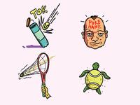 Tennis Fan #3