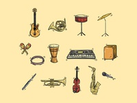Instrument Handdrawn
