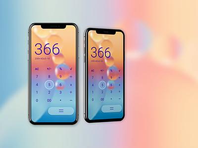 Calculator dailyui web mobile minimal branding website ux design