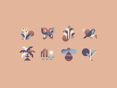 Natural icons icon set icons minimal webdesign design