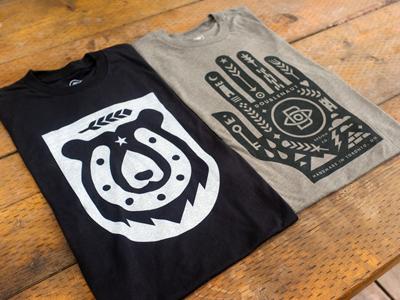New t-shirts shirt bear horseshoe hand