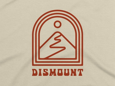 Dismount 1 bicycle path mountains