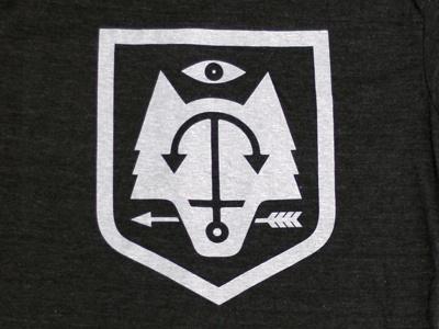 Shield shirt shield wolf anchor eye arrow