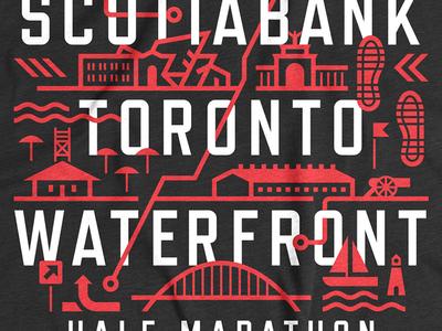 STWM toronto waterfront marathon running