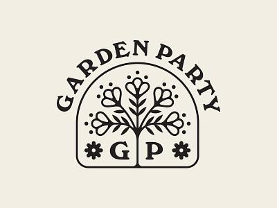 Garden Party flowers plants branding party garden