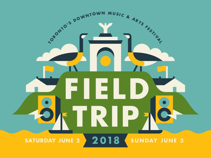 Field Trip 2018 sailboat speaker goose music festival