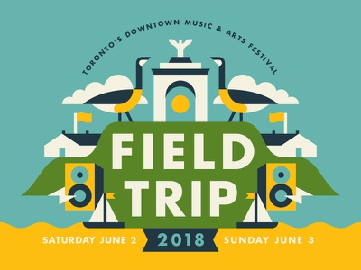 Field Trip 2018 sailboat speaker goose music festival