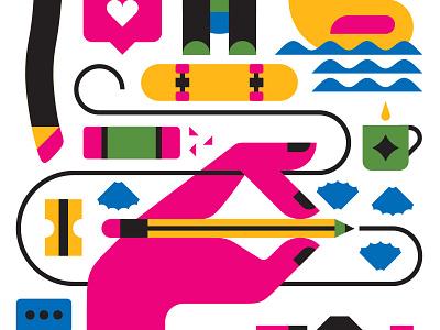 Huge Inc. Toronto illustration art design toronto huge