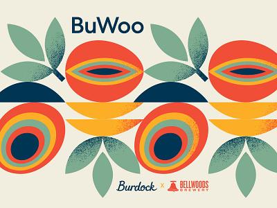 BuWoo tea mango sour beer
