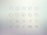 61 Weather Icons Collection | Free