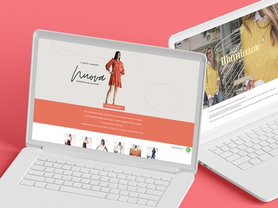 Landing Pages for LAQUILA, a Brazilian Ecommerce fashion brand fashion color ecommerce design pagefly shopify landing page collection ecommerce