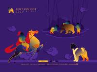 royalknight akitas kennel website