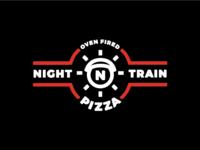 Night Train Pizza Logo