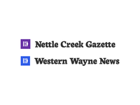 Nettle Creek Gazette + Western Wayne News Branding
