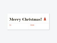 Christmas Tags