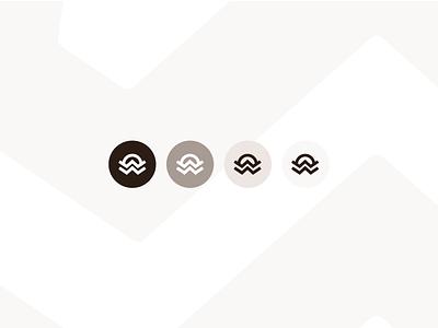 White Oak Workshop Colorways icon colorways logo branding nashville pattern texture white oak woodworking