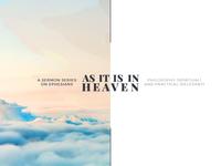 GTW008 - As It Is In Heaven (Sermon Series)