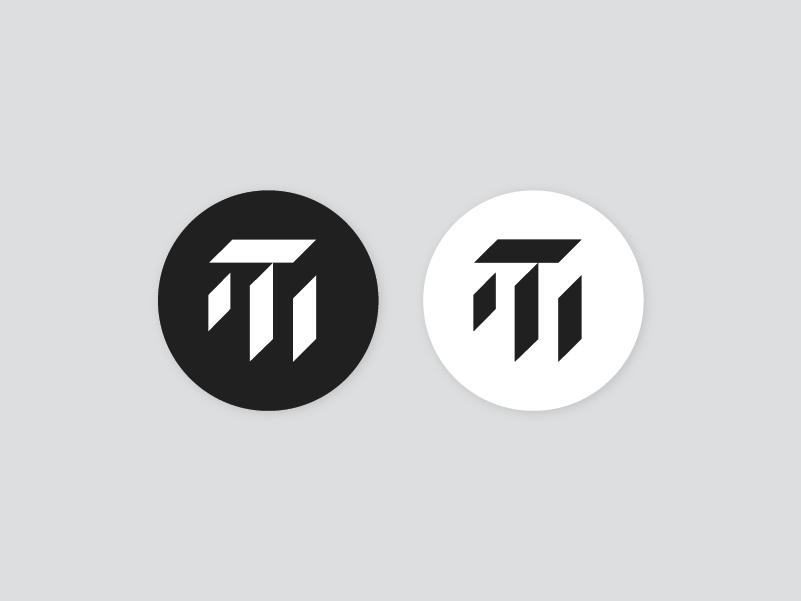 Thrill Miles Logo monochrome geometric branding logo destiny video games gamertag xbox