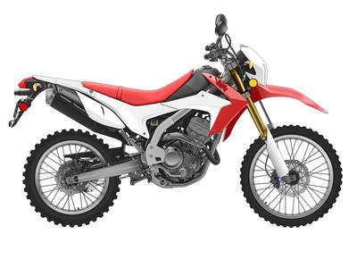Honda CRF250L Motorcycle Vector