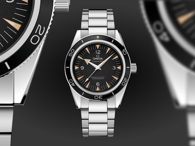 Omega Seamaster Dive Watch VECTOR