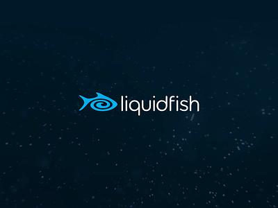 liquidfish / New Site Teaser branding digital agency agency website agency logo motion design logo animation