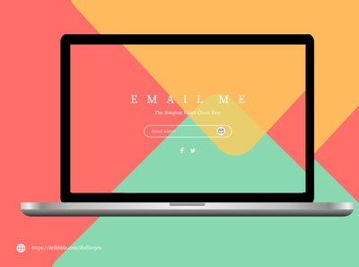 Come On, Email me 😍💃 animation jobs typography webdesign designs email marketing email template email design freelancer ui branding like logo illustration follow me follow design app