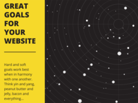 eBook About Making Great Website Goals