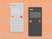 Neomorphic Calculator UI dailyuiday4 dark theme dark ui neomorphism neomorphic calculator ui calculator dailyuichallenge dailyui
