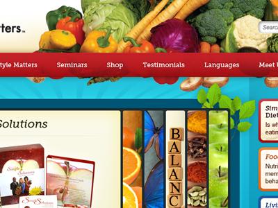 Healthy Living Slideshow slideshow health vegetables