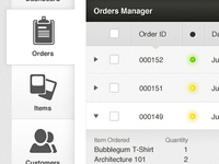 Orders Manager for an eCommerce Application