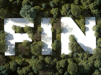 The Visual Effects of FIND 3d artwork design artwork 3d art mostmagic cinema 4d redshift houdini typo text forest motion design