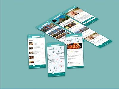 Travel ux ui дизайнер travel app планировщик маршрута mobile travel