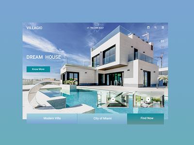 VILLAGIO dream agency sale sun miami villa madern house