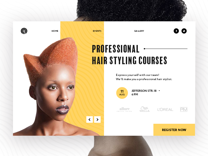 Hair Style Courses By Halo Lab Dribbble Dribbble