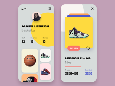 Starstuff App Concept appearance clothes lookbook star style ux ui mobile color application app