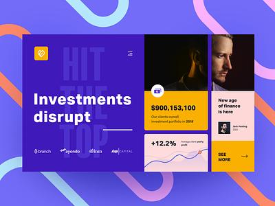 Investments Platform capitalization trade website entrepreneur financing industry capital commercial mentorship fund investors business company startup investment