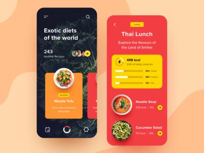 Exotic Diets App