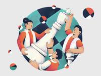Blitz Agency Illustration