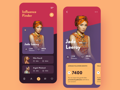 Influence Finder App