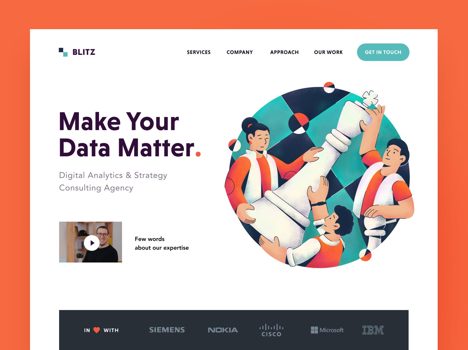 Blitz agency website