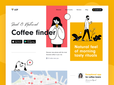 Local Coffee Finder Web