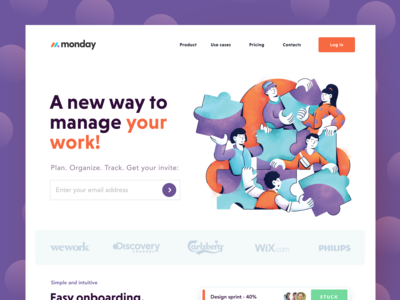 Monday Project Management Platform Website
