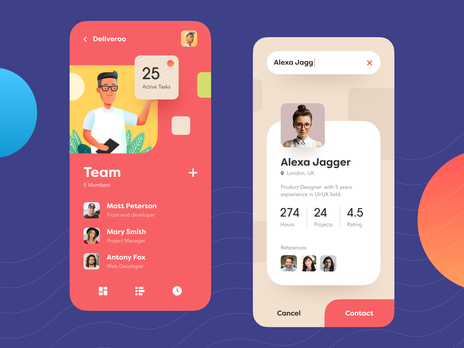 Mobile Design Inspiration: A Roundup by Anton Tkachev, Cuberto and more