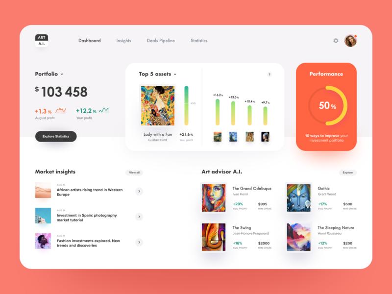 Art Investments Platform
