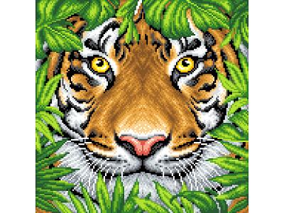 Pixel Art. Wildlife. wild jungle pixel perfect illustration art design graphicdesign illustration pixels pixelartist pixelart tiger king tiger illustration tiger