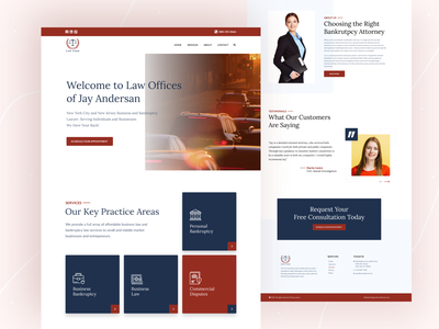 Law Firm Website Design figma design figma creative design web design website uidesign trend 2020 minimal legal adviser law firm lawyers law justice clean branding agency attorney  law agency website agency landing page