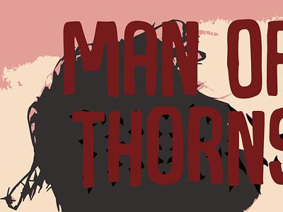 Man of thrones concept design vector illustration
