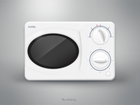 The microwave oven-Icon