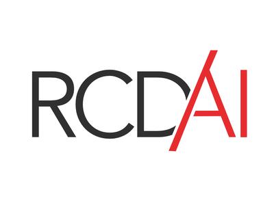 Rcd AI web vector typography branding logo