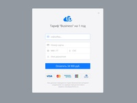 Payment form for LPCloud
